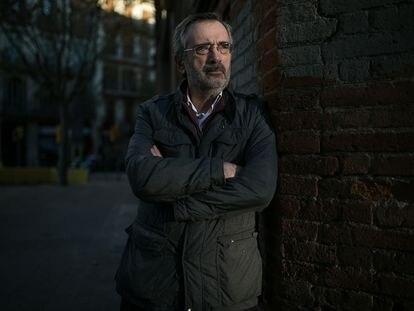Manuel Cruz, el pasado 2 de diciembre, en Barcelona.