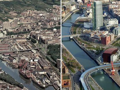Vídeo | El País Vasco funciona al ritmo que marca la Ría