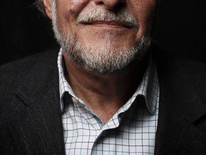 Pepu Hernández, candidato del PSOE a la alcaldía de Madrid, en el Café Barbieri.