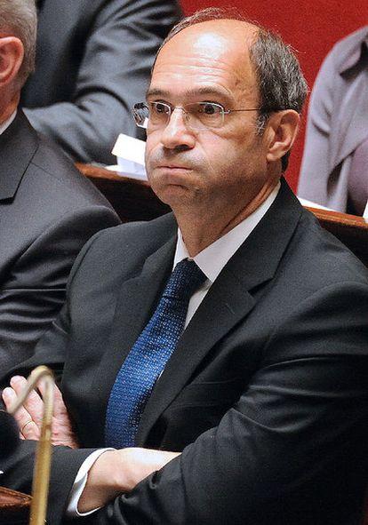 Eric Woerth, en la Asamblea francesa el pasado 6 de julio.