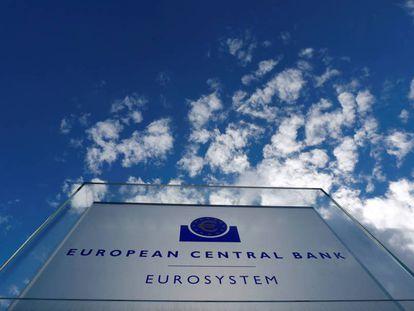 Sede del Banco Central Europeo en Fráncfort, Alemania.