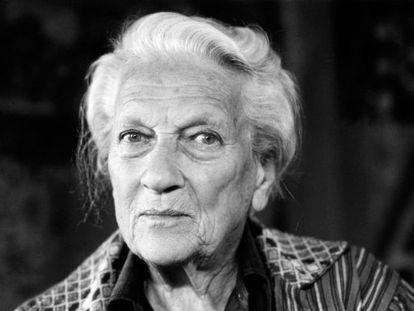 La escritora suiza Ella Maillart.