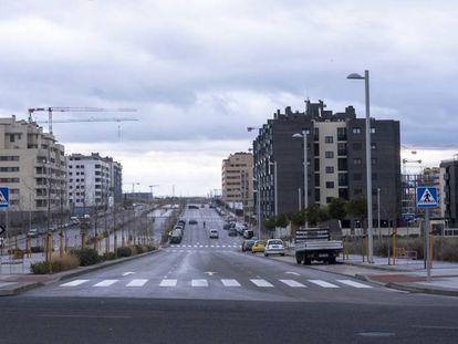 En el desarrollo de El Cañaveral (Madrid), se construyen viviendas para alquilar.