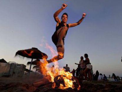 La fiesta es la adaptación cristiana de la celebración pagana del solsticio de verano