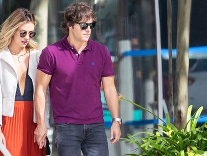 Jordi Cruz y Rebecca Lima, en Madrid en octubre de 2019.