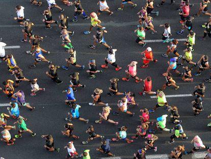 Media Maraton Trinidad Alfonso de Valencia.