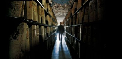 Vista de los Archivos Secretos del Vaticano, que cuentan con 85 kilómetros de estanterías.