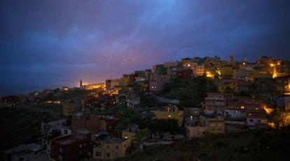 Vista de la barriada de El Príncipe Alfonso, en Ceuta.