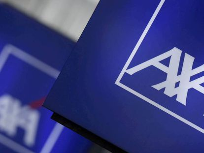 Logo de la aseguradora AXA