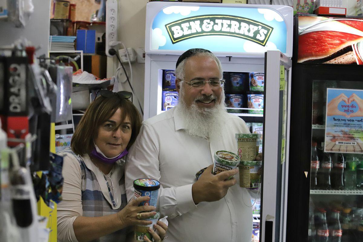Un sabor a boicoteo que deja helados a los colonos judíos