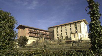 Fàbrica Giner, en Morella, sede de la Fundación Blasco de Alagón, que recibió ayudas de la línea investigada.