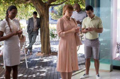Las aplicaciones móviles también son protagonistas de muchas de las historias de 'Black Mirror'.