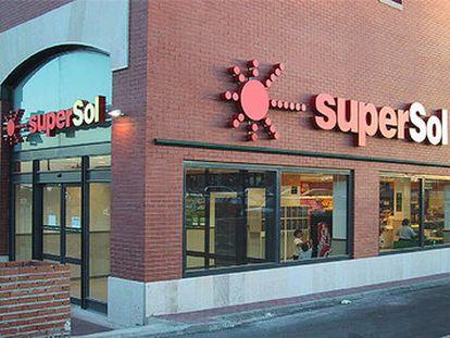 SuperSol, una de las marcas con las que ha operado Ahold en España.