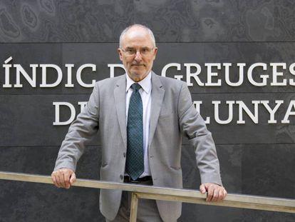 El Sindic de Greuges, Rafael Ribó.