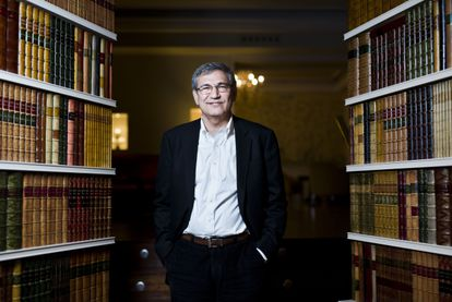 El escritor turco Orhan Pamuk, en Madrid en 2016.