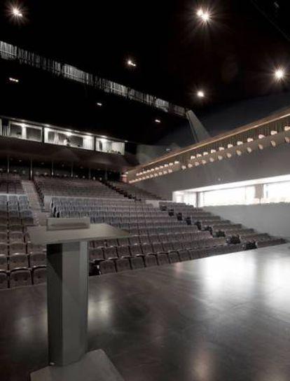 Interior del auditorio del teatro La Rambleta.