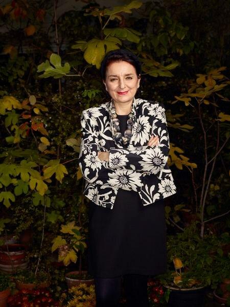 La socióloga Eva Illouz, fotografiada en París el 21 de octubre.