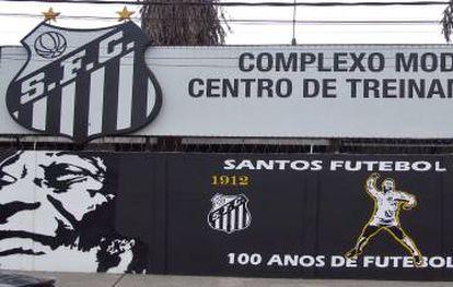 Centro de entrenamiento del Santos, que lleva el nombre de Pelé.