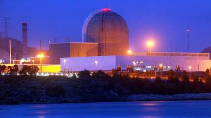 Imagen de la central nuclear Vandellòs II, en Tarragona.