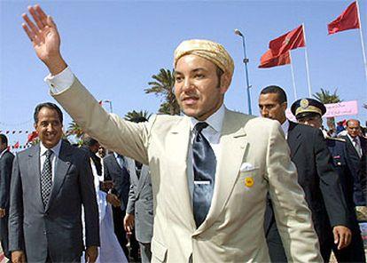 Mohamed VI, en una visita al Sáhara Occidental.