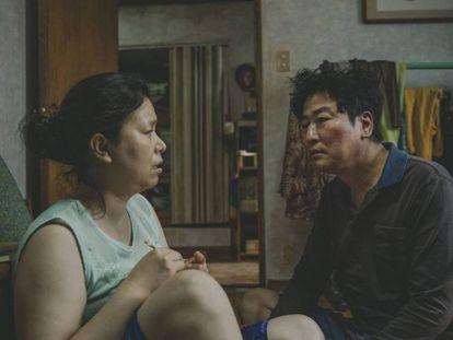 Imagen de 'Parásitos'. En vídeo, las claves del filme surcoreano.