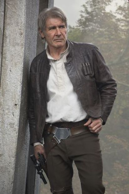 Harrison Ford, como Han Solo en la nueva 'Star Wars'.