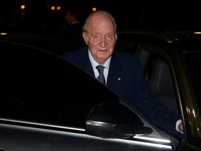 El rey emérito Juan Carlos de Borbón, en Madrid en febrero de 2020.