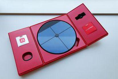 Imagen del Under Armour Health Box de HTC