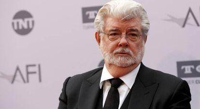 George Lucas, en Hollywood.
