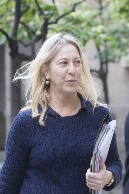 La vicepresidenta del Gobierno catalán, Neus Munté.