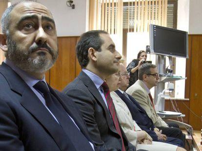 Manuel Rodríguez de Castro, durante el juicio en 2013.