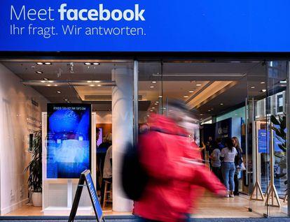 Imagen de una tienda efímera de Facebook en Colonia (Alemania) en noviembre de 2018.
