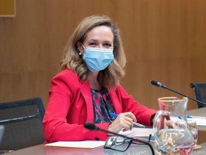 Nadia Calviño, vicepresidenta segunda del Gobierno y ministra de Asuntos Económicos y Transformación Digital.
