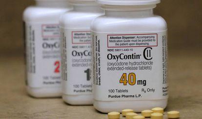 El analgésico OxyContin de Purdue Pharma