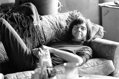 Neil Young en 1967, cuando pertenecía a la banda Buffalo Springfield.