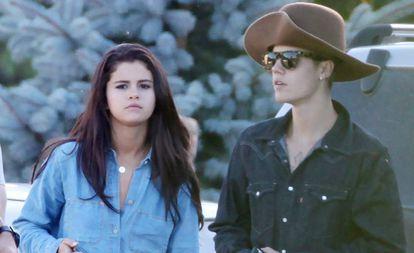 Selena Gomez y Justin Bieber, en una imagen de 2014.