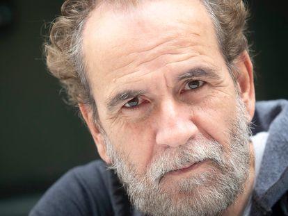 El actor Guillermo Toledo, en Madrid.