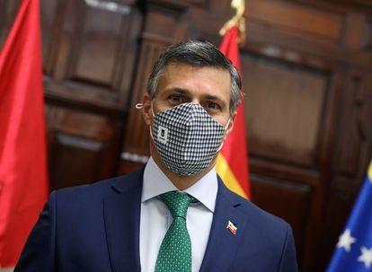 El opositor venezolano Leopoldo López, en Madrid, el pasado 3 de noviembre.