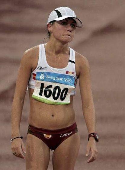 La española termina quinta en 20 km marcha