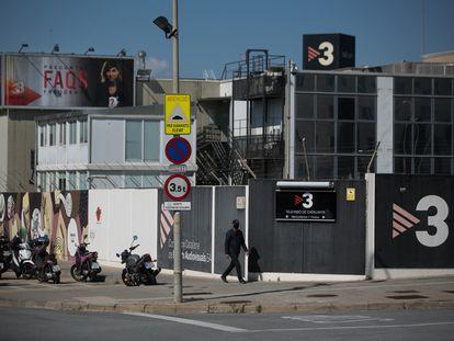 Una imagen de las instalaciones de TV3 en Sant Joan Despí. / ALBERT GARCIA