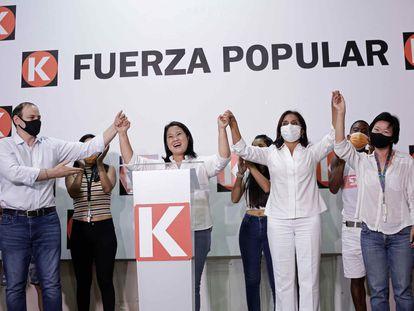 La candidata a la presidencia del Perú por el partido Fuerza Popular, Keiko Fujimori, ha pasado a la segunda vuelta con un 13,2% de los votos.
