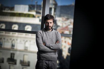 Oleguer Pujol, en un despacho de Barcelona.