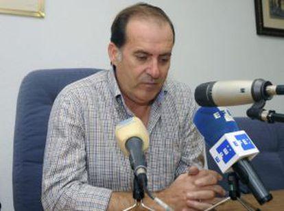 El alcalde de Fortuna, Matías Carrillo, anuncia su dimisión.