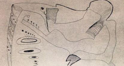 Uno de los dibujos del curso de 2013, realizado por Dolores Lozano.