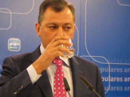 El secretario general del PP, José Luis Sanz.