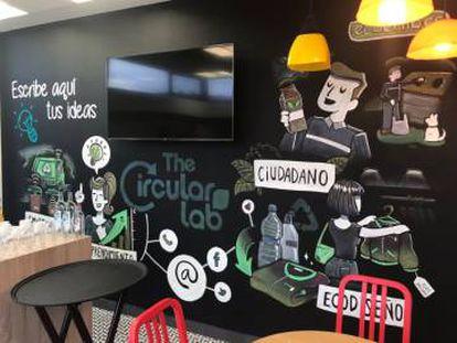 Imagen del interior de The Circular Lab (Logroño).
