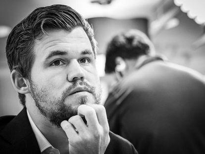 Magnus Carlsen, hace un año en el Club de Ajedrez de San Luis (Misuri, EEUU)