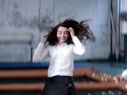 Andrea Fandos, en una imagen de 'Las niñas'.