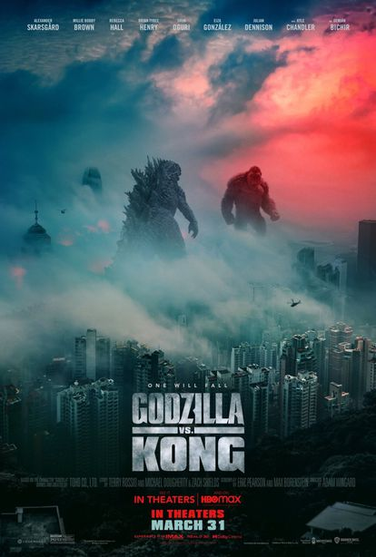 The one in 'Godzilla vs.  Kong 'is the latest poster that Matilla has designed.