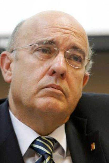 El consejero de Salud Boi Ruiz.